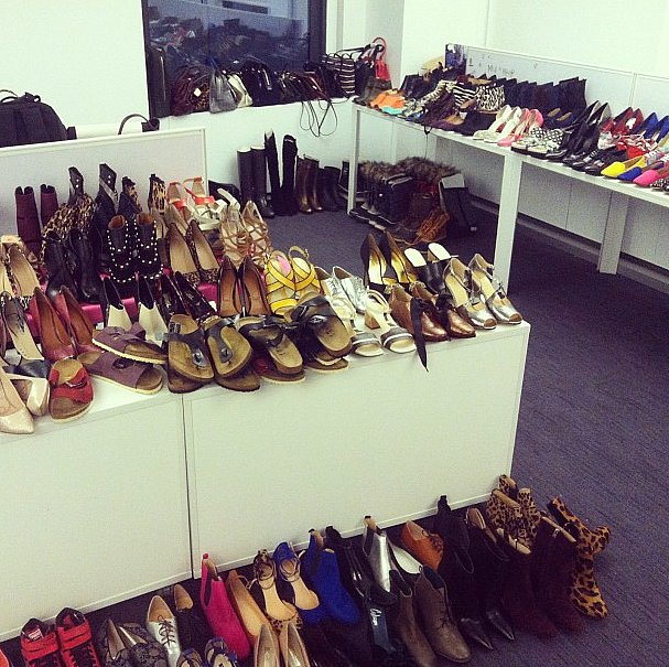 Shoes for days — check back soon to see our ShopStyle campaign!