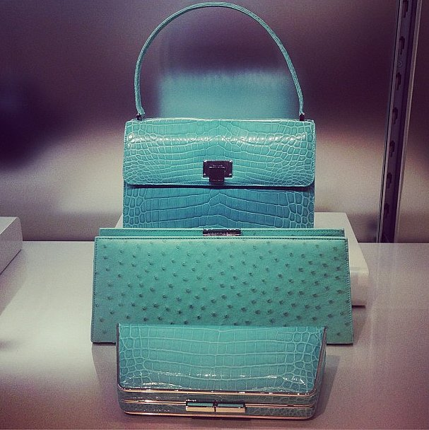 Add a croc Tiffany's handbag to our holiday list, please.