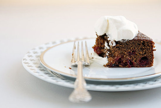 Cranberry-Gingerbread Cake