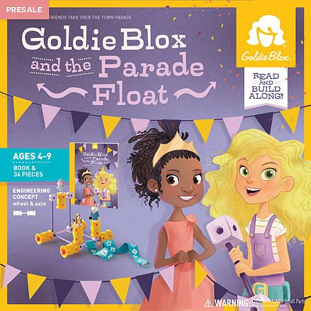 New GoldieBlox Toy For Girls