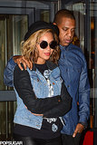 Beyonce and Jay Z had a cute date night in Paris on Monday.
