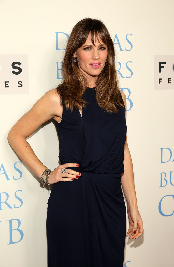 Jennifer Garner attended the LA premiere of Dallas Buyers Club.