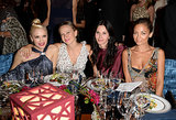 Gwen Stefani, Jennifer Meyer, Courteney Cox, and Nicole Richie posed for an all-girl photo together.