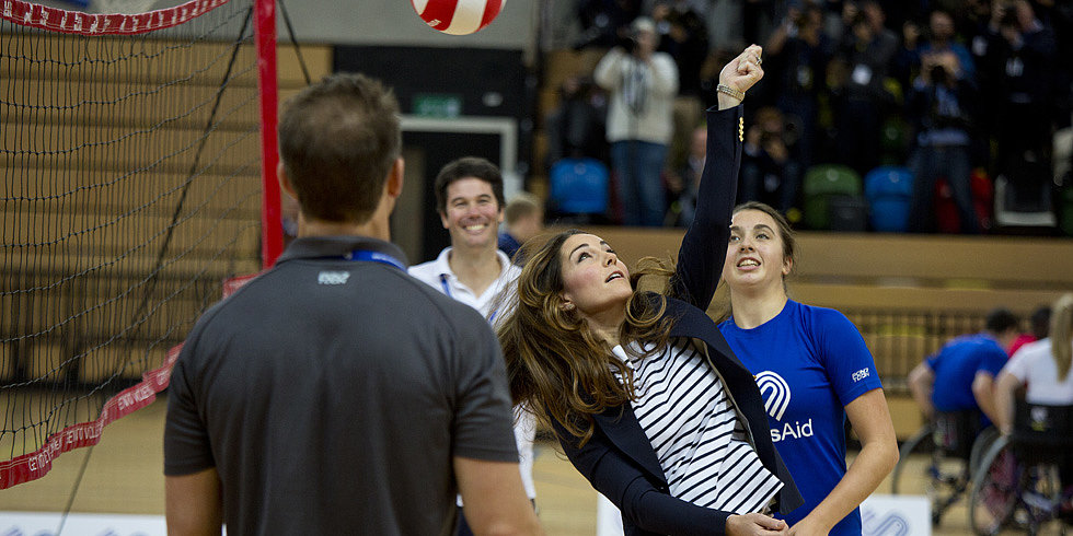 Royal Report: Kate Middleton Shows Her Sporty Side — and Stomach! — as William Marks a First