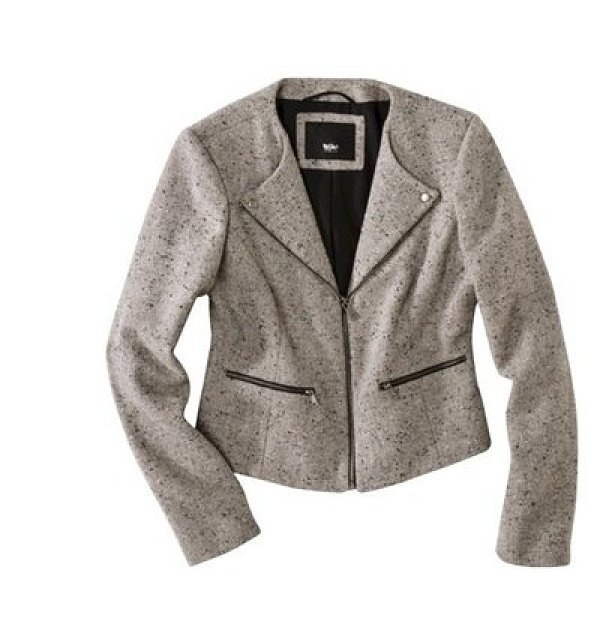 Swap a blazer for this cozier