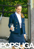 Alicia Silverstone was in Atlanta on Wednesday to film the new TV movie HR.