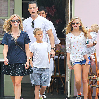 Reese Witherspoon at Lunch With Her Family in LA