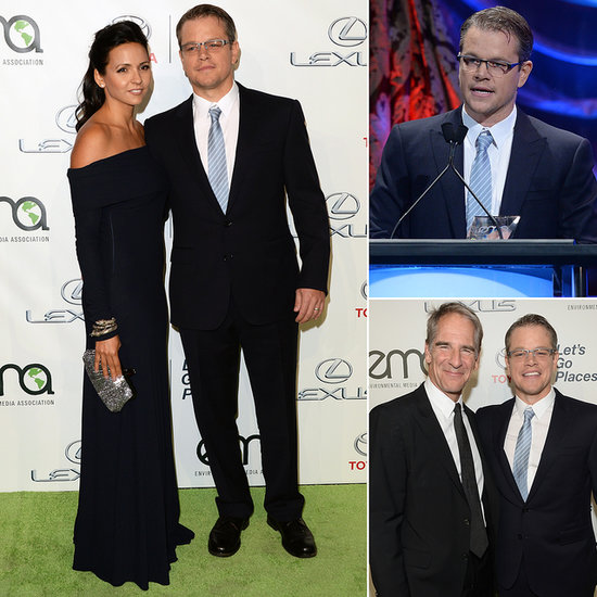 Matt Damon Is Good For the Environment — Especially in a Suit
