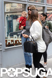 Gisele Bündchen and Vivian Brady went shopping in NYC.