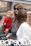 Gisele Bündchen and Vivian Brady walked with a friend.