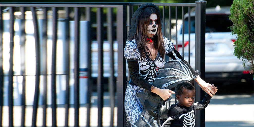 Sorry, Kids — Sandra Bullock's Halloween Costume Steals the Show