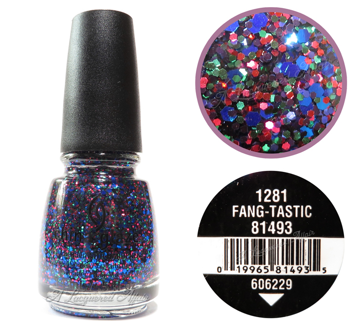 China Glaze Fang-tastic