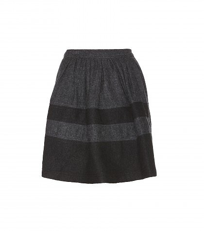 Burberry Brit - Wool-blend skirt