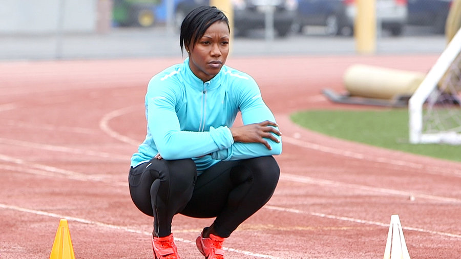 How Does Carmelita Jeter, Fastest Woman Alive, Slow Down?