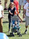 Reese Witherspoon walked around the festival with husband Jim Toth.