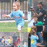 It's Official: Harper Beckham Is the Cutest Soccer Player