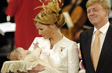 King Willem-Alexander and Queen Máxima's daughter Catharina-Amalia, Princess of Orange, was christened at St. Jacob's Church in The Hague on June 12, 2004.