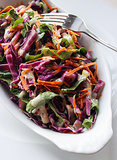 Lunch and Dinner: Carrot and Cabbage Detox Salad