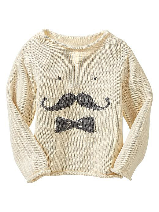 Gap Mustache Sweater