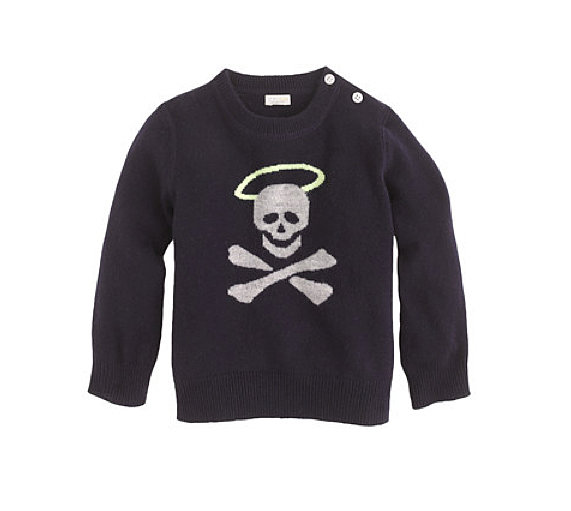 J.Crew Halo-Skull Sweater