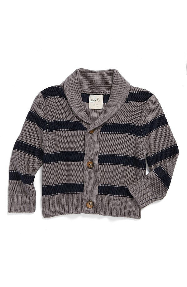 Peek Highland Stripe Cardigan