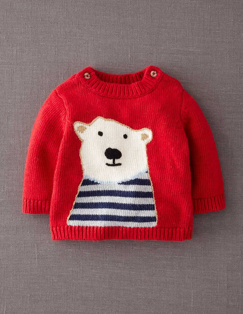 Mini Boden Polar Bear Sweater