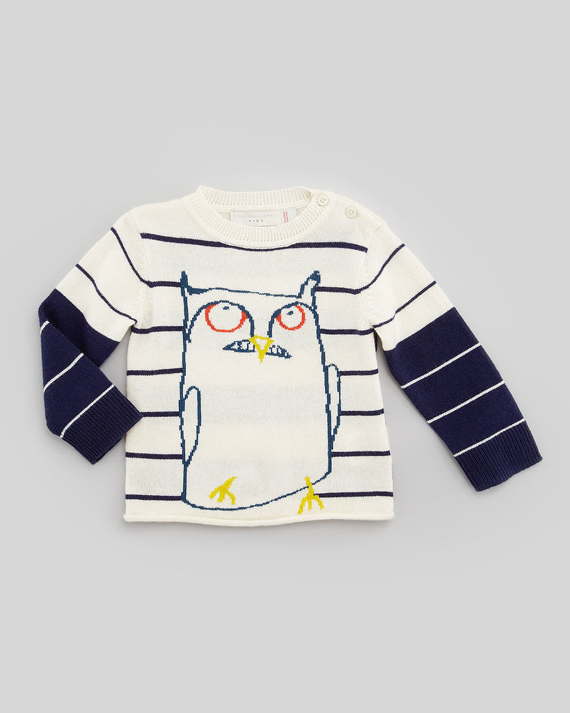 Stella McCartney Wiggins Owl Sweater