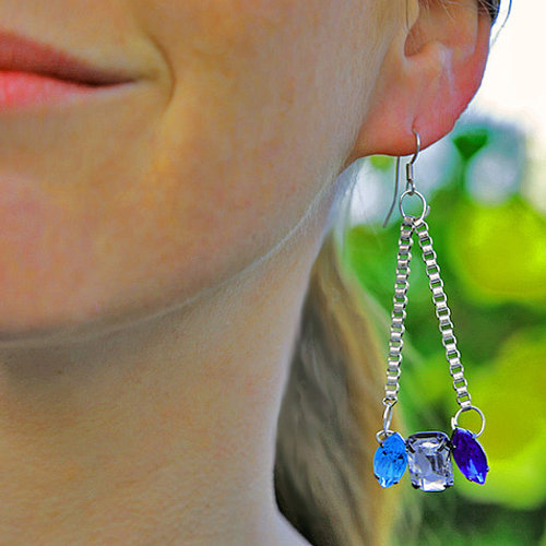 DIY Crystal Chain Earrings | Video