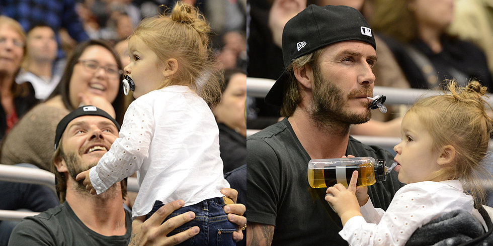 Harper Beckham, Ultimate Baby Sports Fan