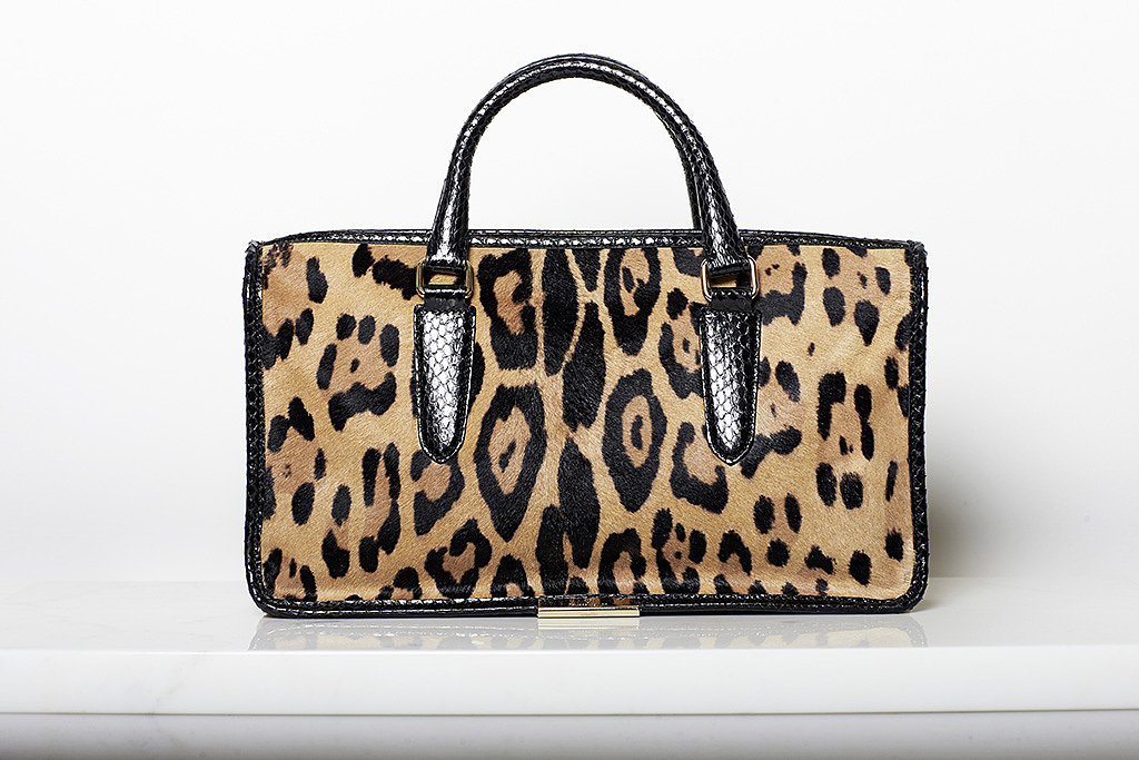 Diglam Pony Satchel in Leopard ($1,195) Photo courtesy of Tamara Mellon