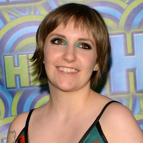 Lena Dunham Tweets About Christian Grey