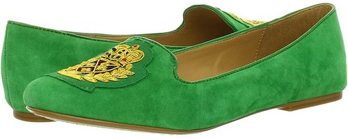 Nine West - Panto (Green Suede) - Footwear