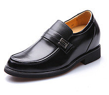 Black / Brown Men Height Inceasing Dress Shoes increase taller 8cm / 3.15inch