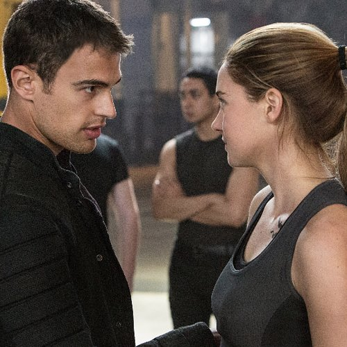 Divergent Cast Interviews | Shailene Woodley and Theo James