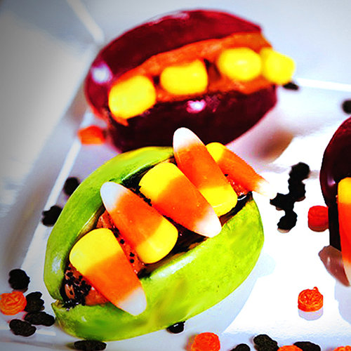 Candy Corn Monster Mouths Recipe | Video