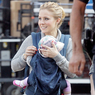 Kristen Bell With Daughter Lincoln Shepard