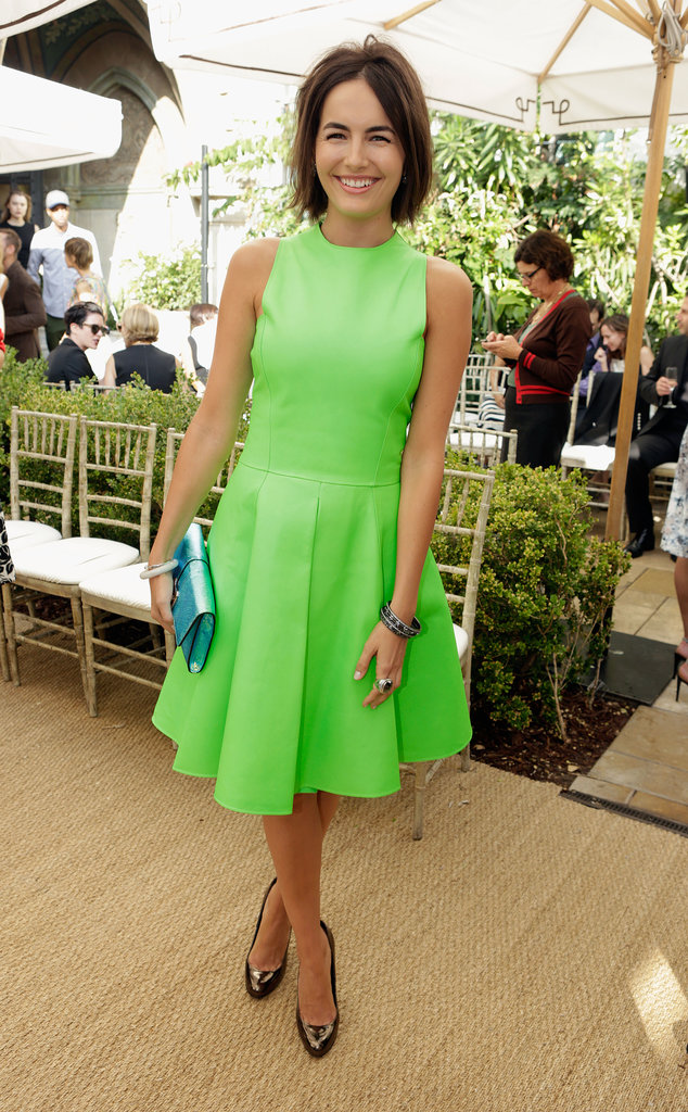 Camilla Belle in Ralph Lauren Collection