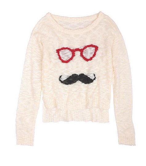 We can't get enough of cheek knits, like