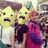 Lady Lemongrabs and Prince Gumball