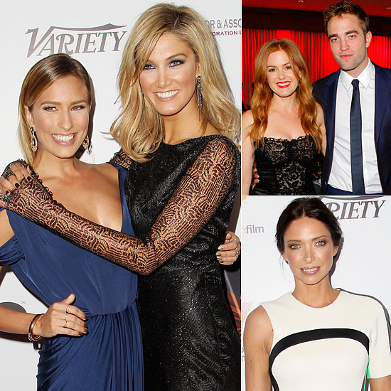 All-Australian Beauties (and One Englishman) at the Australians in Film Gala