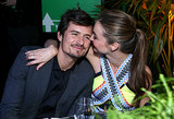 Miranda Kerr showed Orlando Bloom some love at a pre-Oscars party in LA back in February 2013.