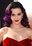 For the 2012 premiere of Katy Perry: Part of Me, the leading lady went for bombshell waves in a rich violet hue.