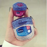 Check out these bedazzled Vaseline bottles Michelle Phan showed off! Source: Instagram user michellefawn