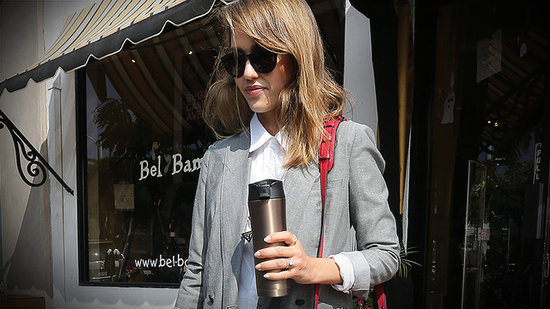 How Does She Do It? Jessica Alba Perfects Menswear