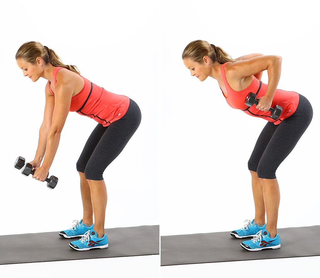 Bent Over Row: 12 Reps