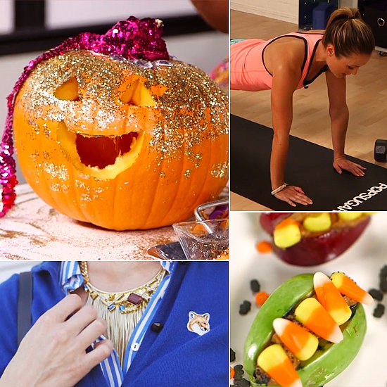 Glittered Pumpkins, Halloween Snacks, and a Chest Workout: The Best of POPSUGARTV This Week