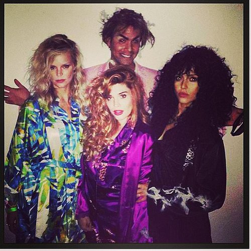 The Witches of Eastwick Jessica Alba channeled Cher's character from The Witches of Eastwick. Source: Instagram user jessicaalba