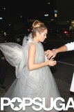 Lauren Conrad kept it simple as a fairy for a Halloween party in LA.