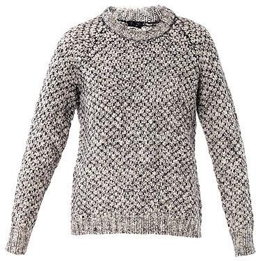 Theory Chunky knit wool sweater