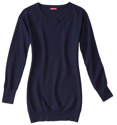Merona® Women's Scoop Neck Tunic Sweater - Assorted Colors